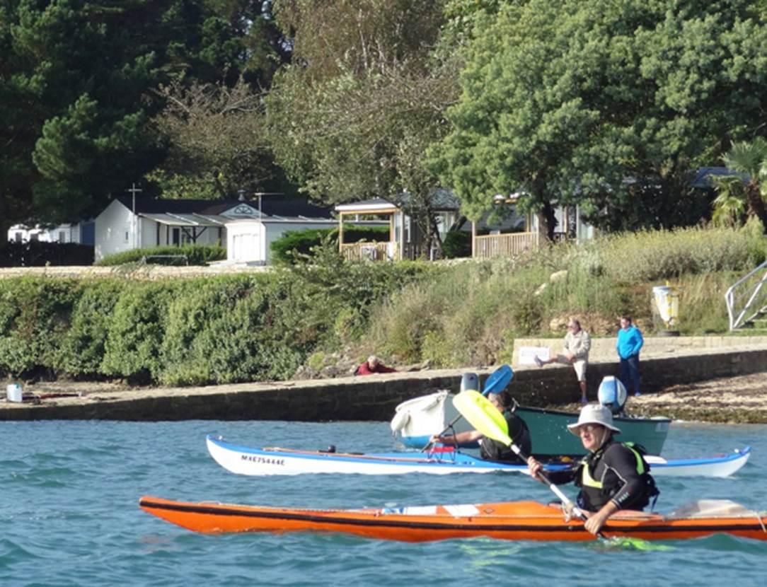 Départ-Kayak-de-Mer-Camping-de-Bilouris-Arzon-Presqu'île-de-Rhuys-Golfe-du-Morbihan-Bretagne sud