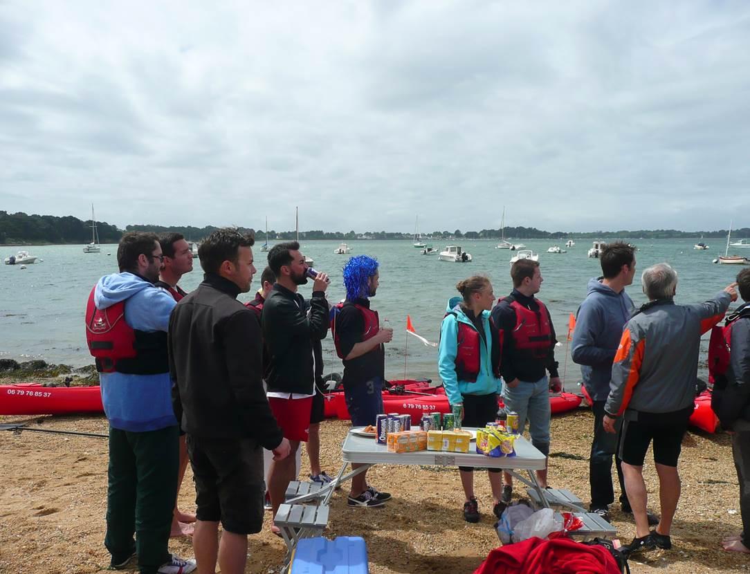 Feet-Kayak-Enterrement-Vie-Garçon-Sarzeau-Golfe-du-Morbihan-Bretagne sud