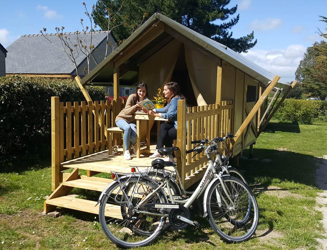 Tente Baroudeur Camping Le Tindio