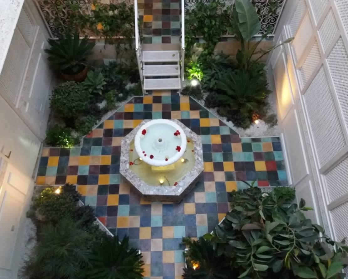 karmela princesse patio jardin riad