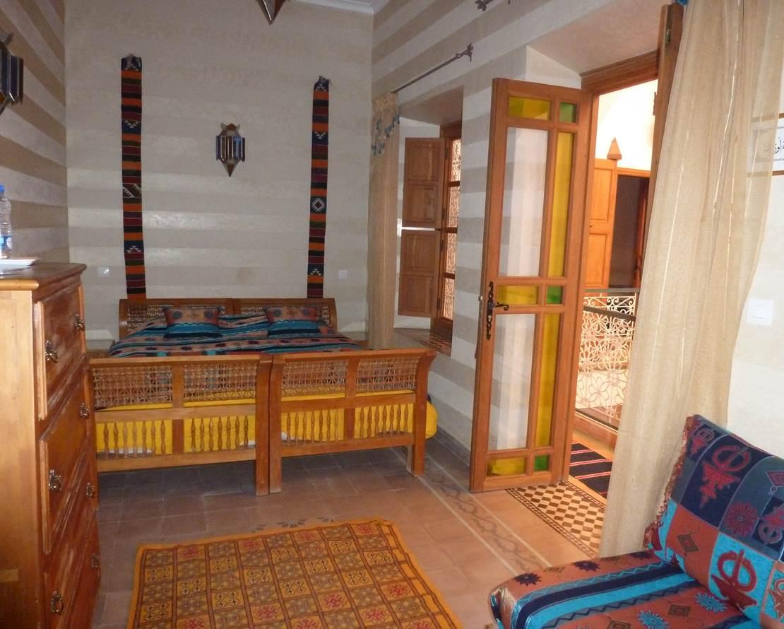 Chambre Marrakech, version lit double