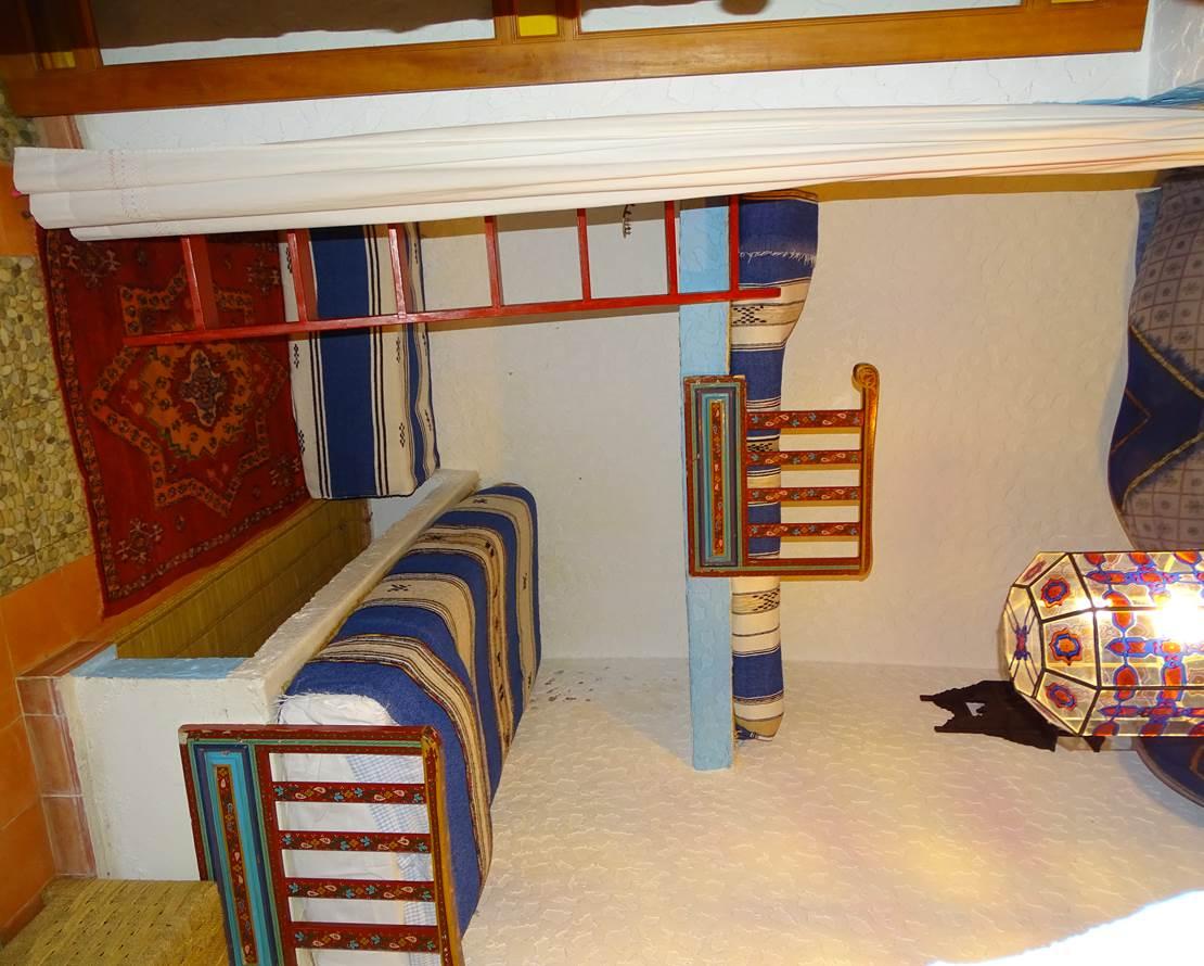 Chambre CHAOUEN, avec lits superposés