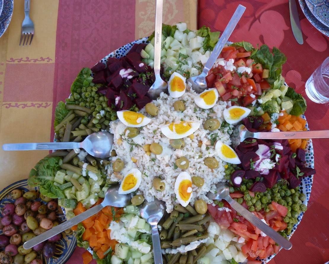 salade variee