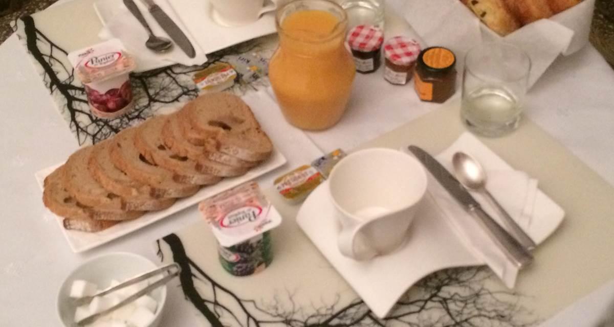 Un petit déjeuner copieux !