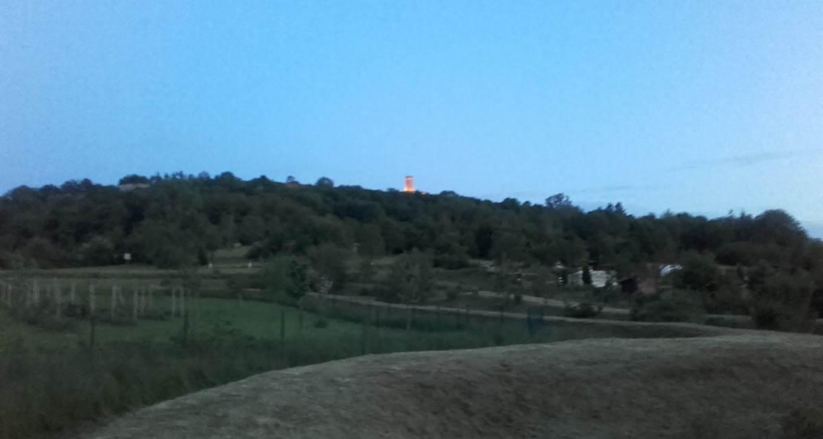 Vue sur Tour de la Miotte 5mn du Gite du lion90