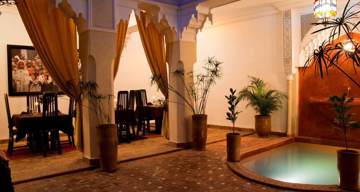 Riad Dar Foundouk & Spa Courtyard