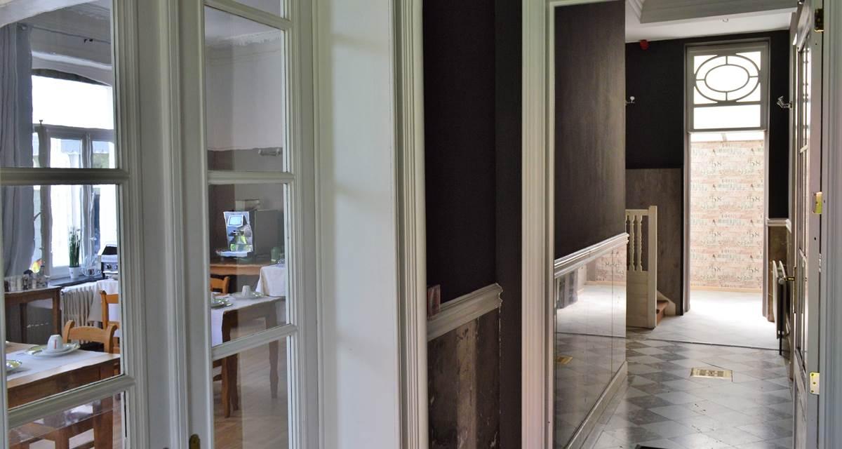 L'hôtel est une véritable demeure spadoise du XIXème siècle