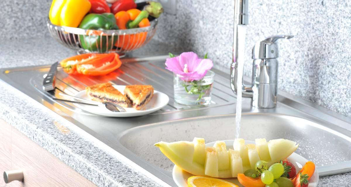 Hotel Eden Park Pau - kitchenette séparée chambre