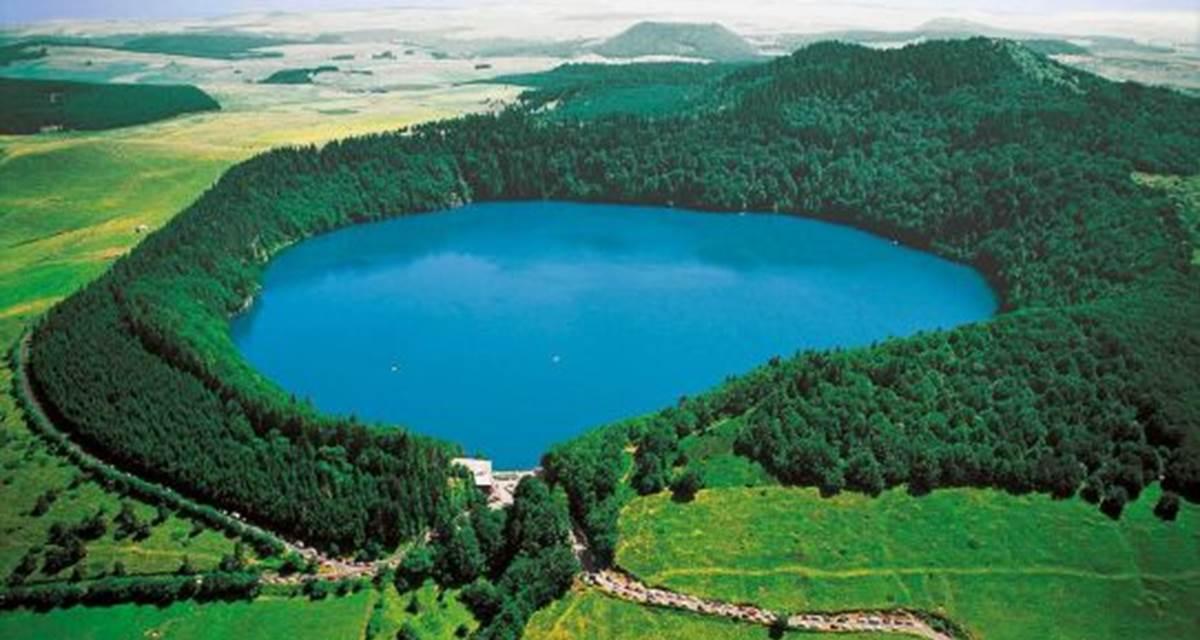 Lac de volcan