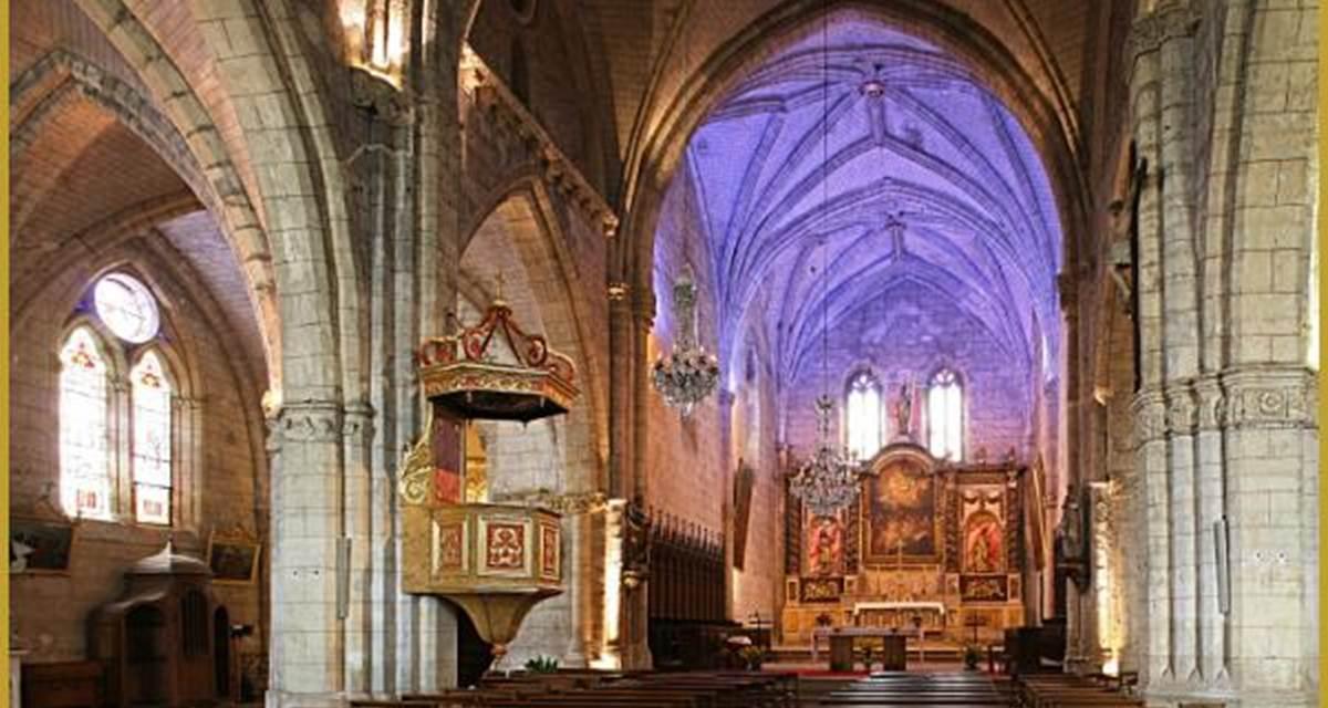 Auvillar, l'église Saint-Pierre
