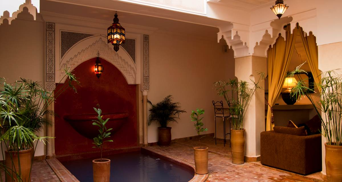 Riad Dar Foundouk Spa Patio Piscine