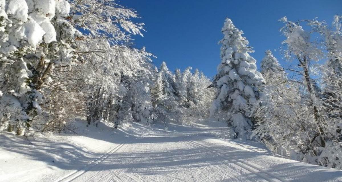 piste ski nordique