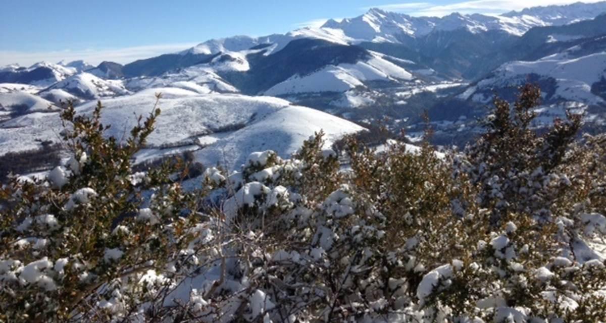 hiver en haut pic de Jer