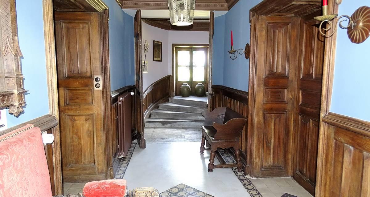 Château de Crocq, entrée.