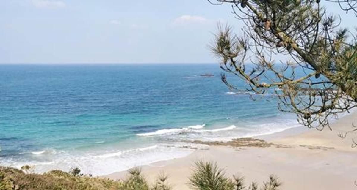 magnifique plage sauvage de sables fins à Erquy