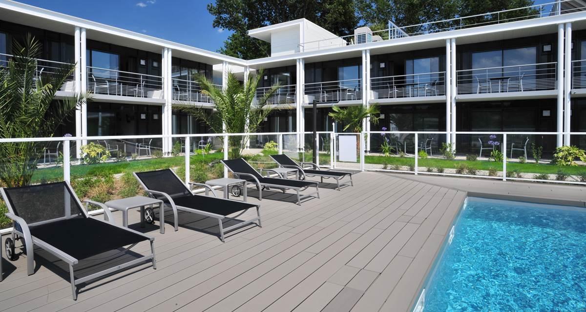 Hotel Eden Park Pau-Bizanos Piscine