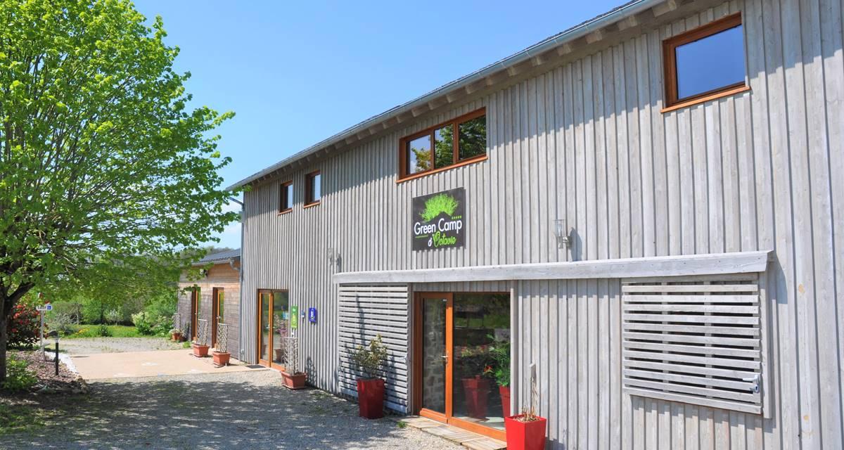 Le Green Camp d'Octavie  la façade