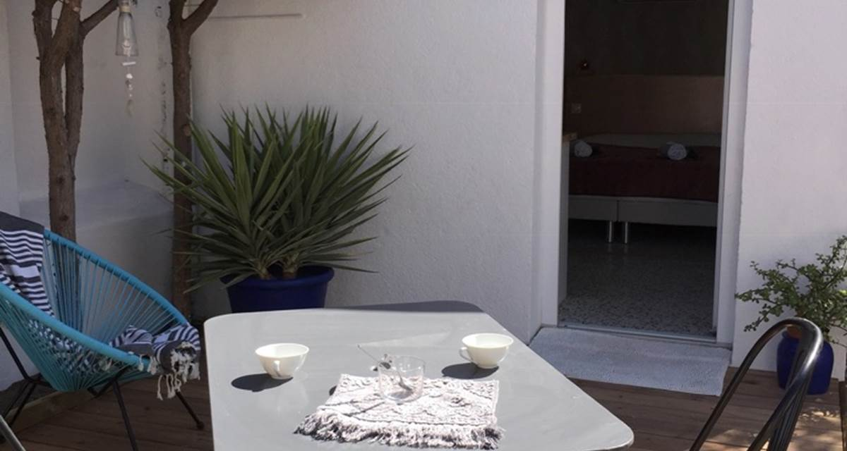 Alba Studios 1, Saint Cyprien, terrasse1d1