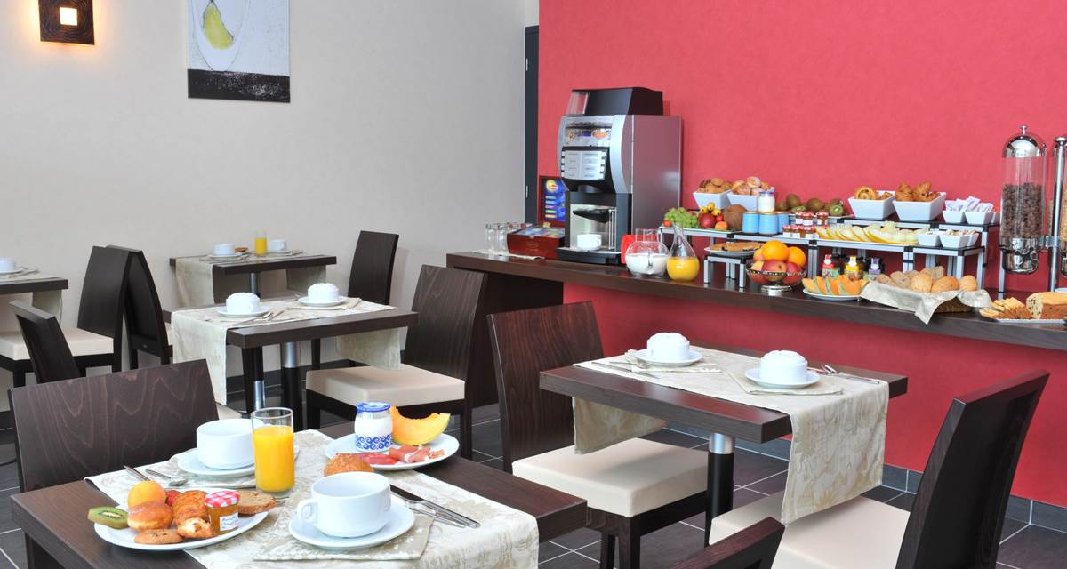 Hotel Eden Park Pau - salle de petit-déjeuner