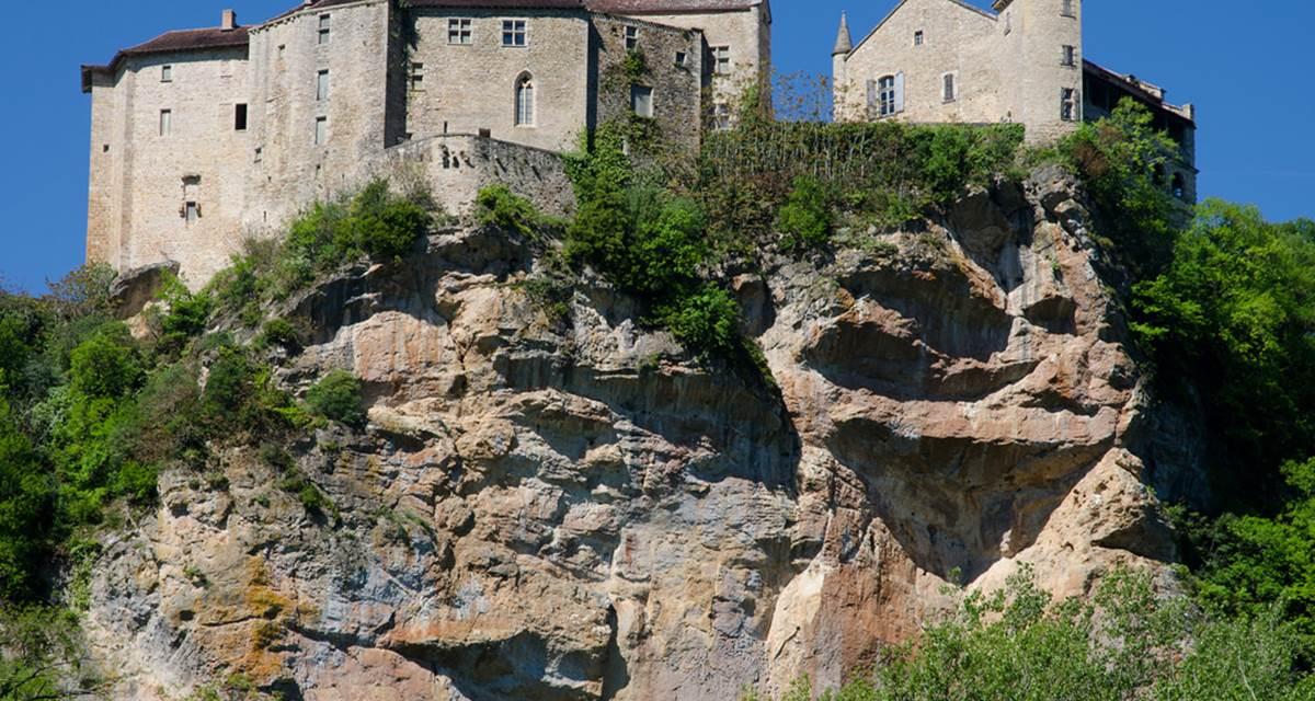 Bruniquel, le Château