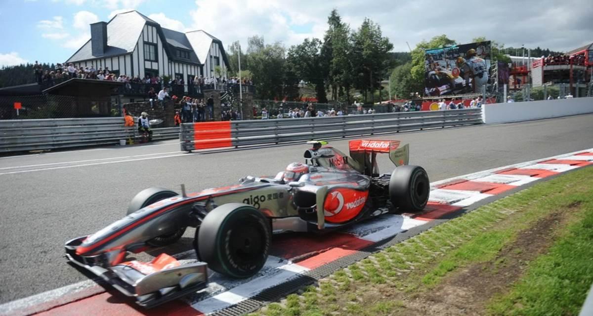 Circuit de Spa-Francorchamps à 10 minutes