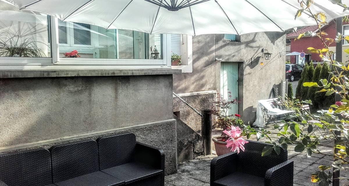 Salon d'été Terrasse du Gite du Lion90