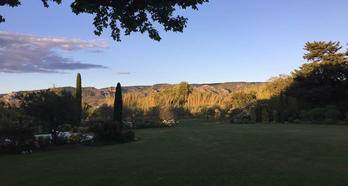coucher de soleil sur Luberon2