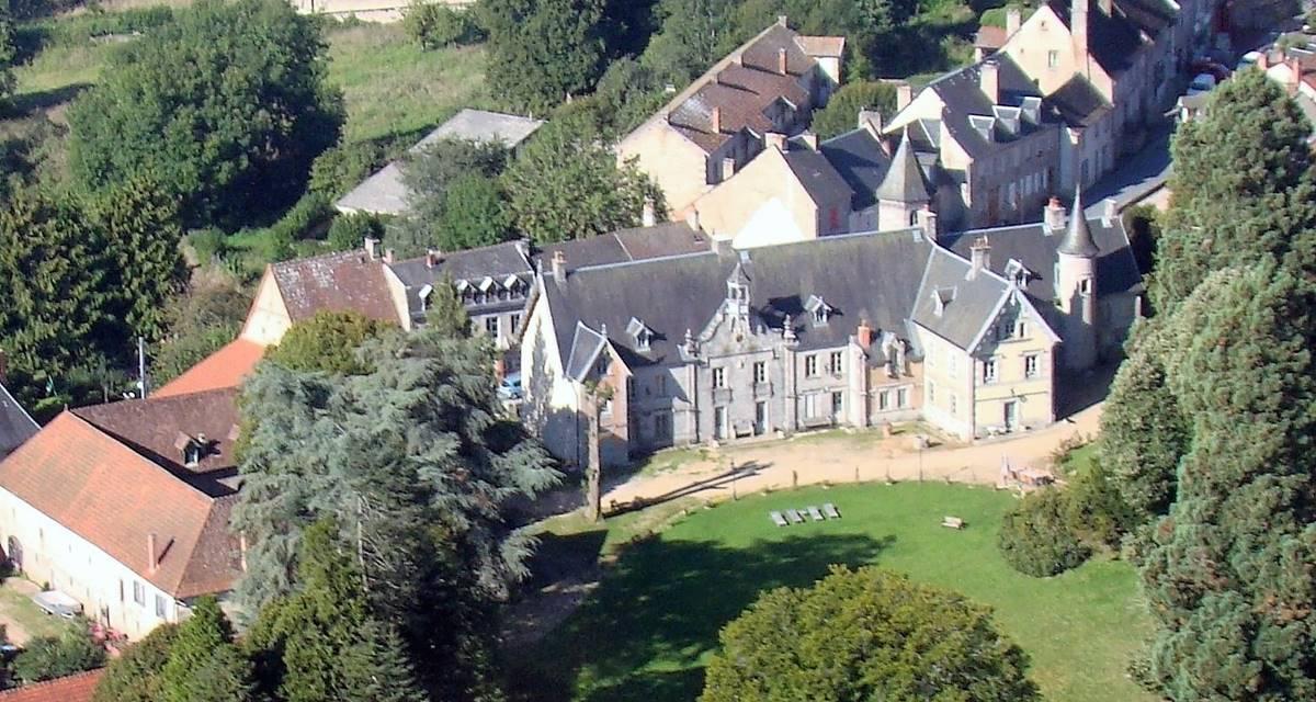Château Crocq, côté parc.