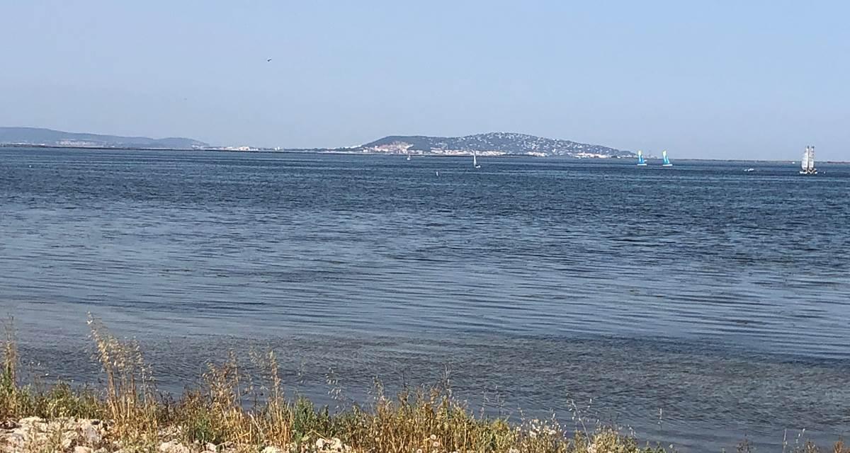 Marseillan vue sur Sète