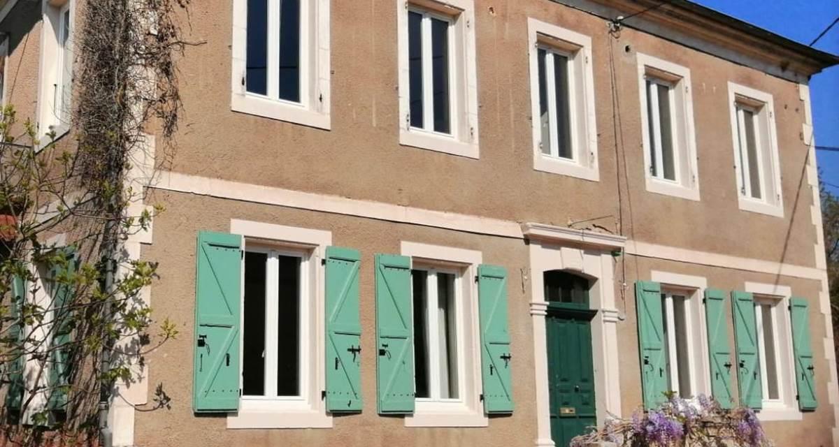 façade de la maison