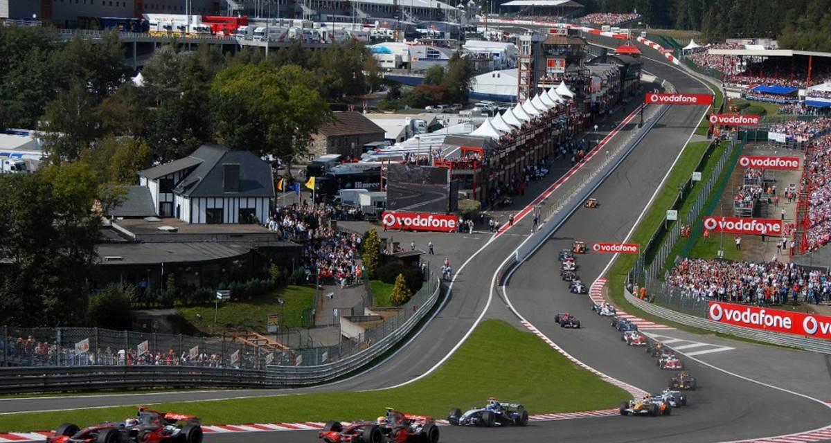Circuit de Spa-Francorchamps à 10 minutes de l'Hôtel La Villa de Spa