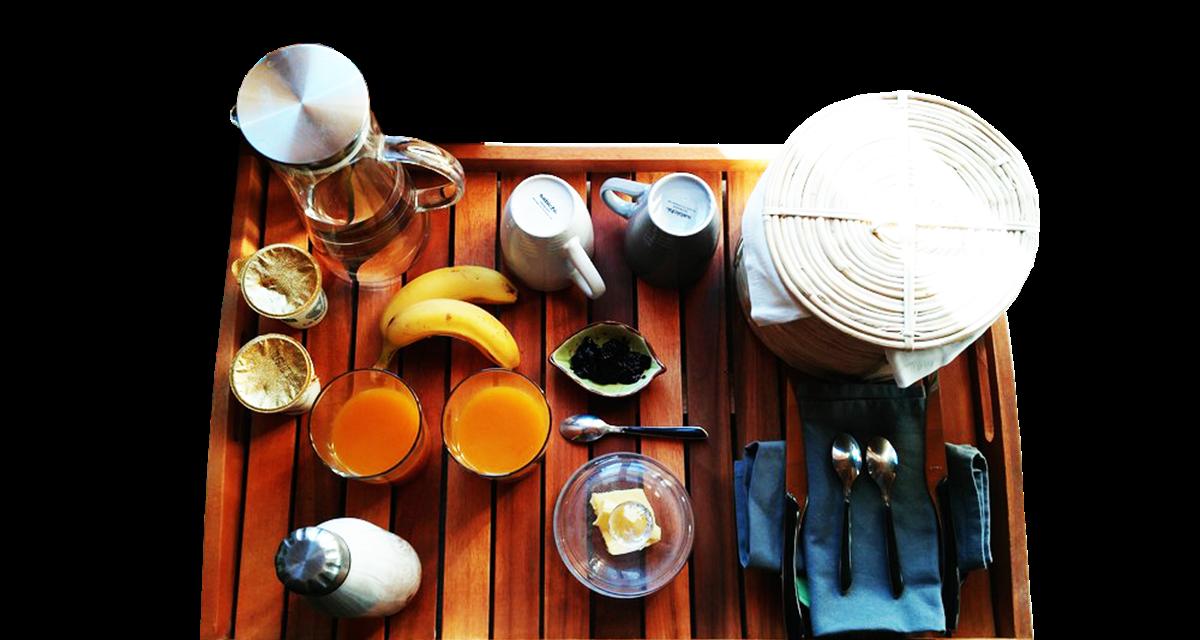 Le petit déjeuner OFFERT