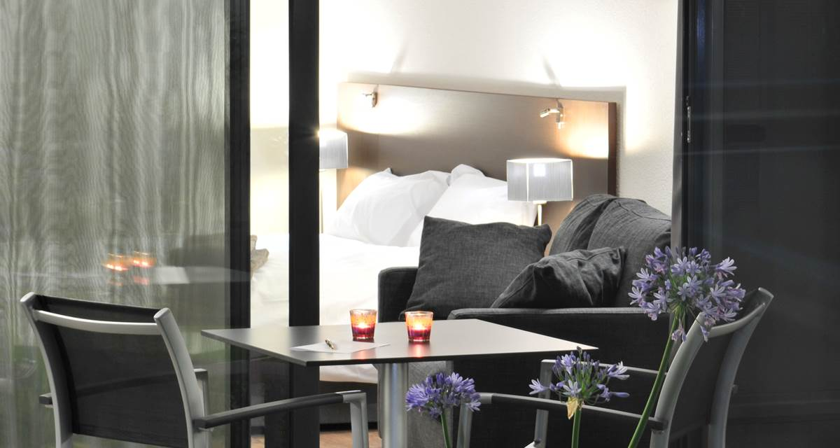 Hotel Eden Park Pau - terrasse chambre