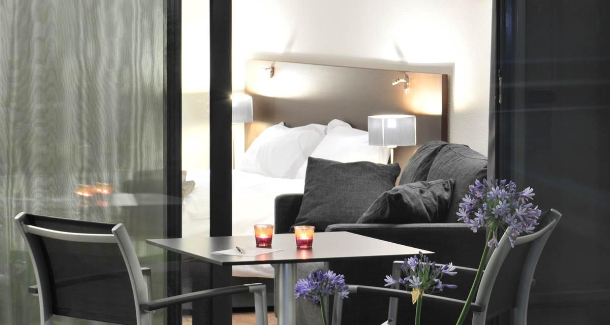 Hotel Eden Park Pau-Bizanos  Terasse Chambre double
