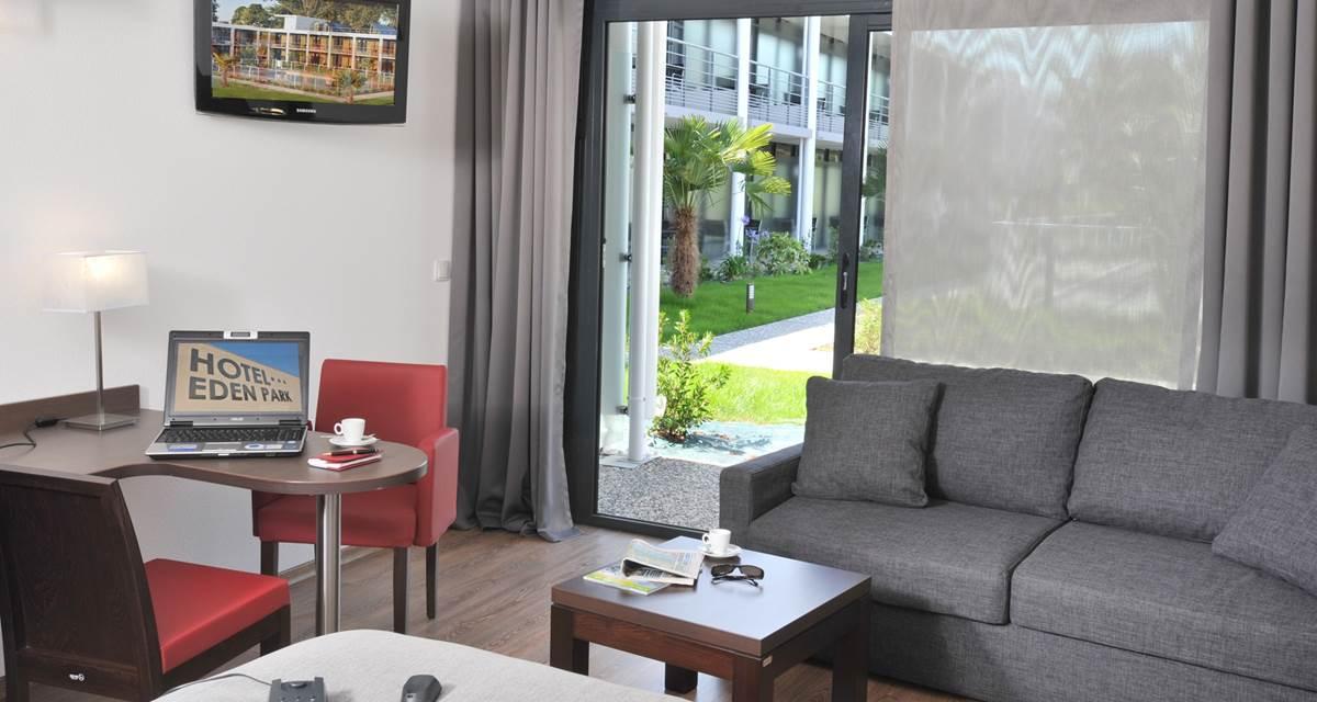 Hotel Eden Park Pau - chambre
