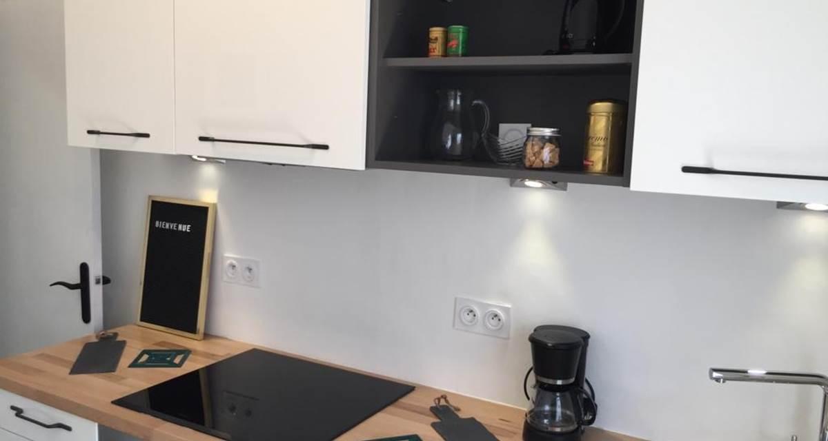 Alba Studios 2, Saint Cyprien, cuisine 5