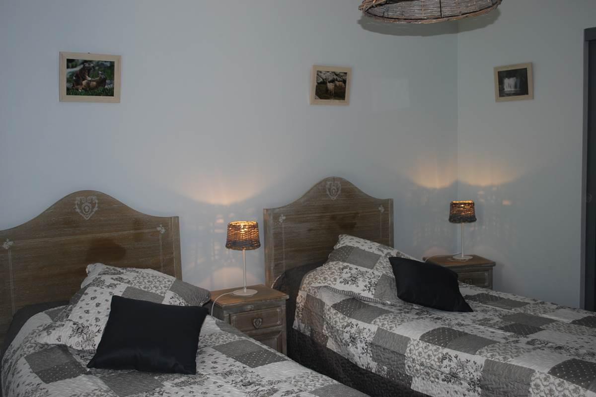 chambre vercors  2 lits de 90X200