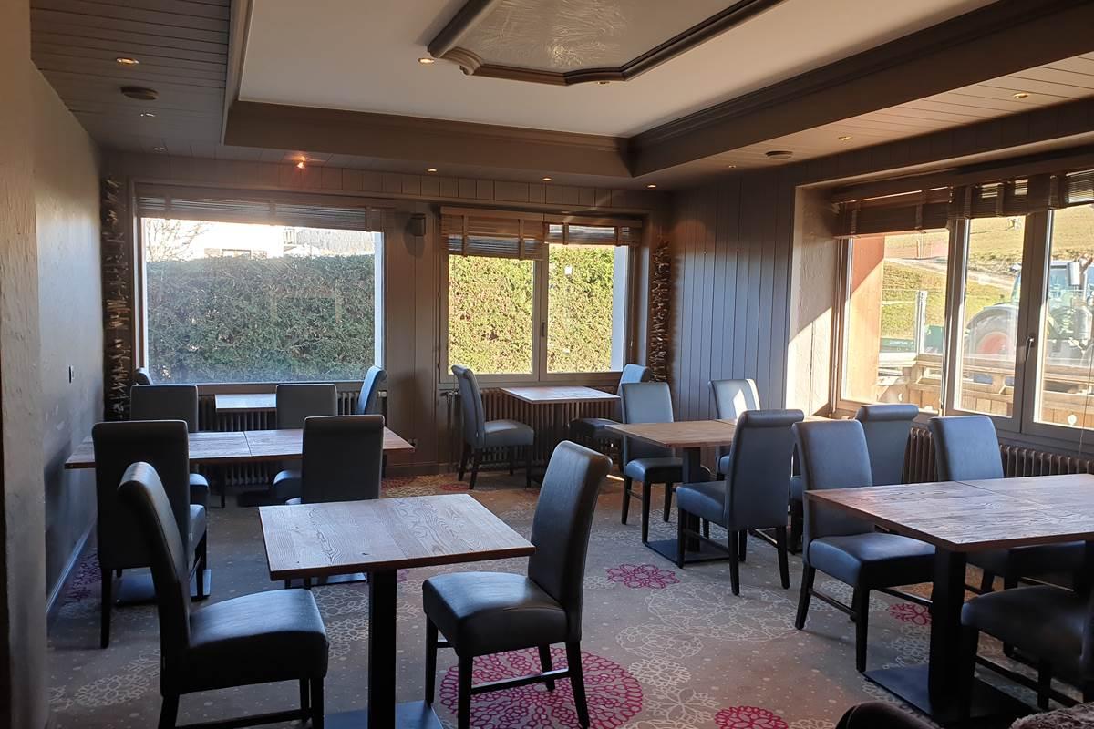 La Table de Diamant Restaurant de l'Hôtel Le Mont Bisanne à Crest Voland