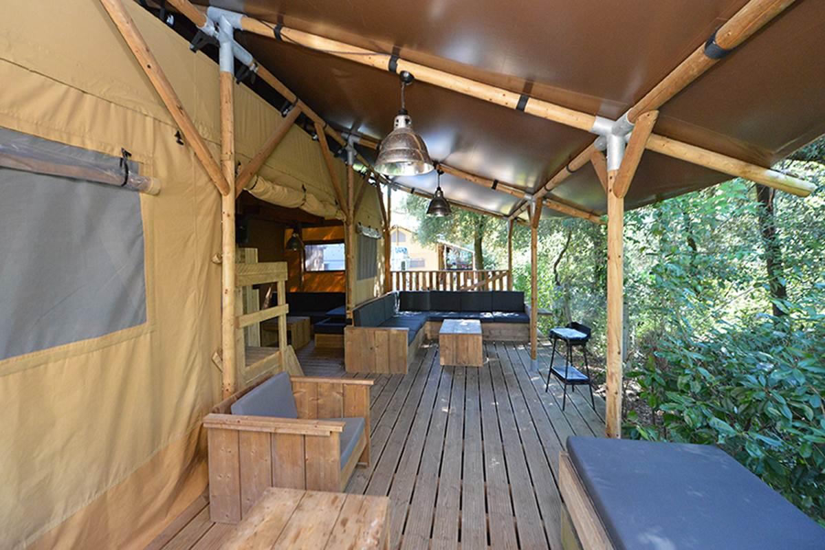 Safari Lodge 8 - Glamping - Camping Les Pins d'Oléron - Ile d'Oléron