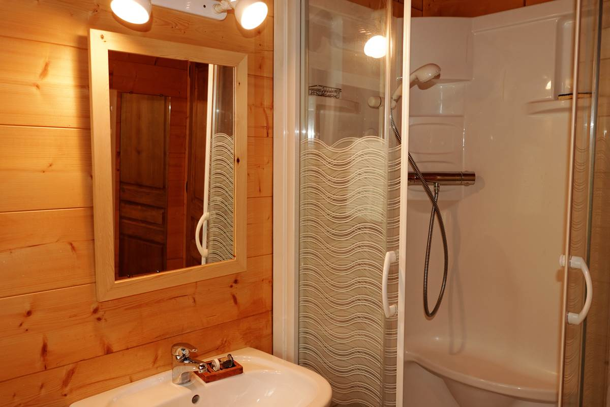 Salle de bains deuxième niveau