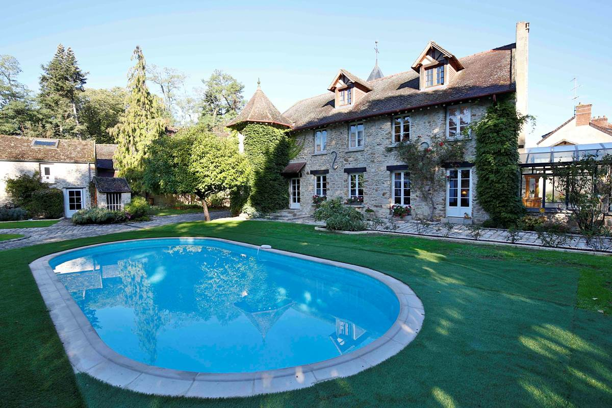 Le Clos Saint Lubin - La piscine