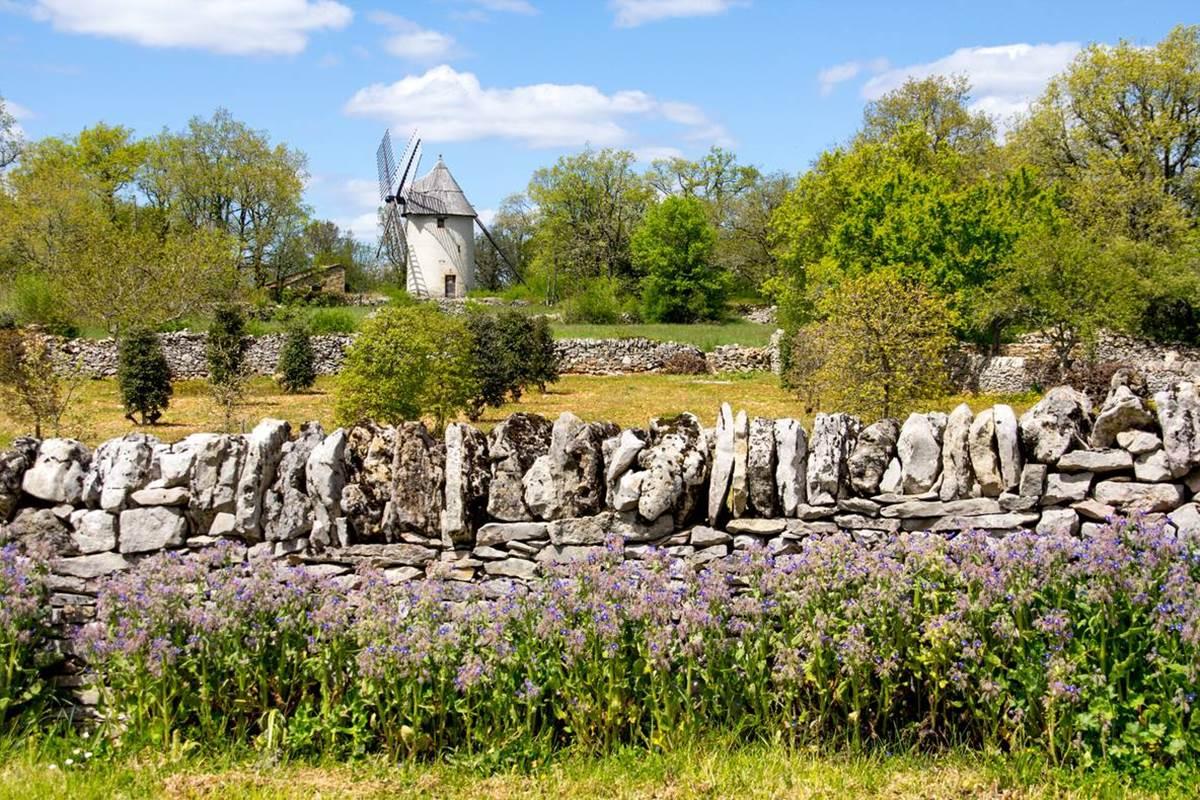 Moulin de la Bosse à Promilhanes - Lot