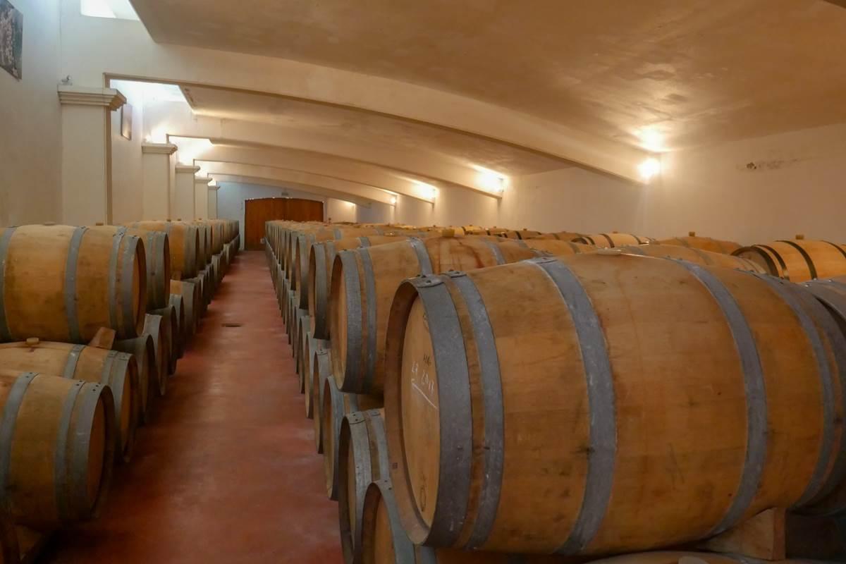 Chai à barriques du Clos Triguedina Lot Tourisme - C