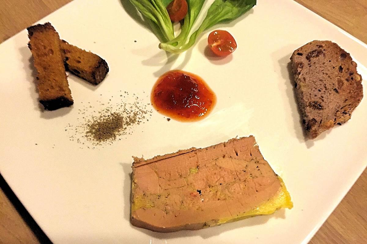 Foie gras mi-cuit maison de Côté Granges (37)