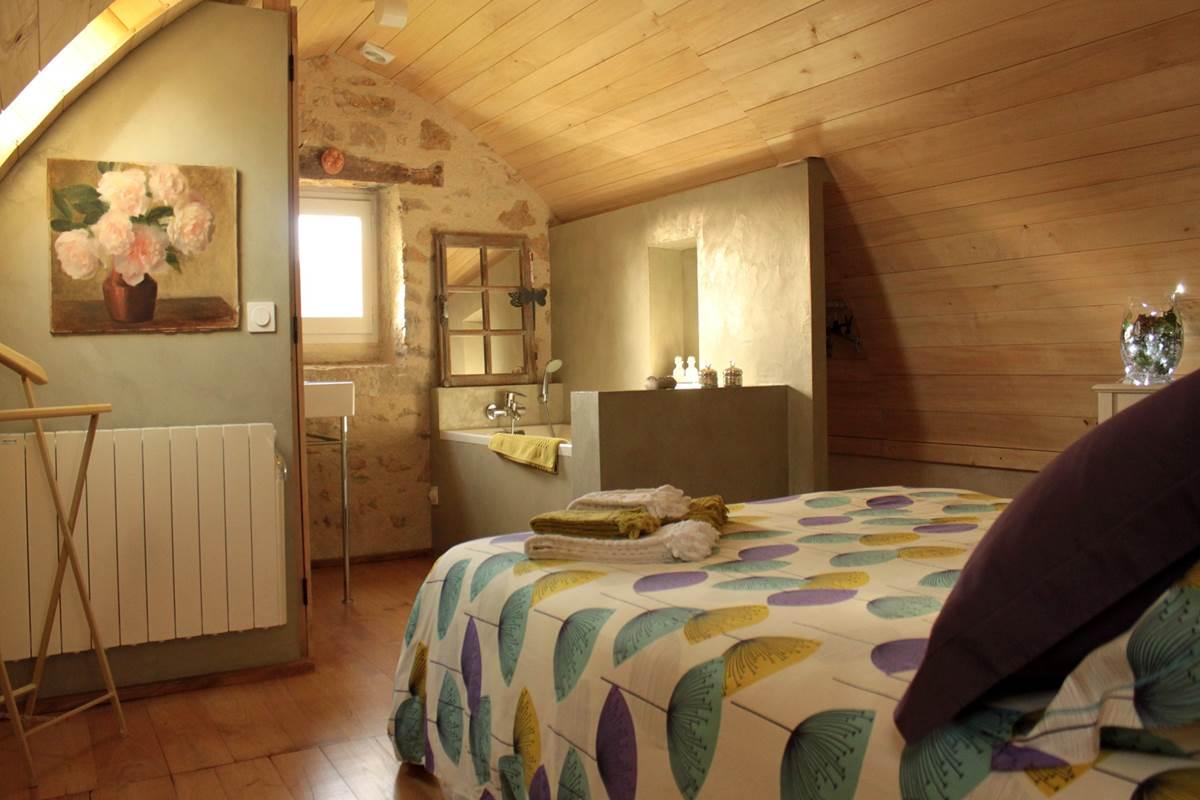 La chambre voûtée et envoûtante