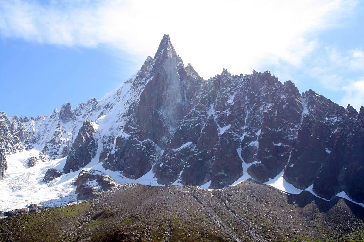 Mer de glace Montenvers, Les Drus