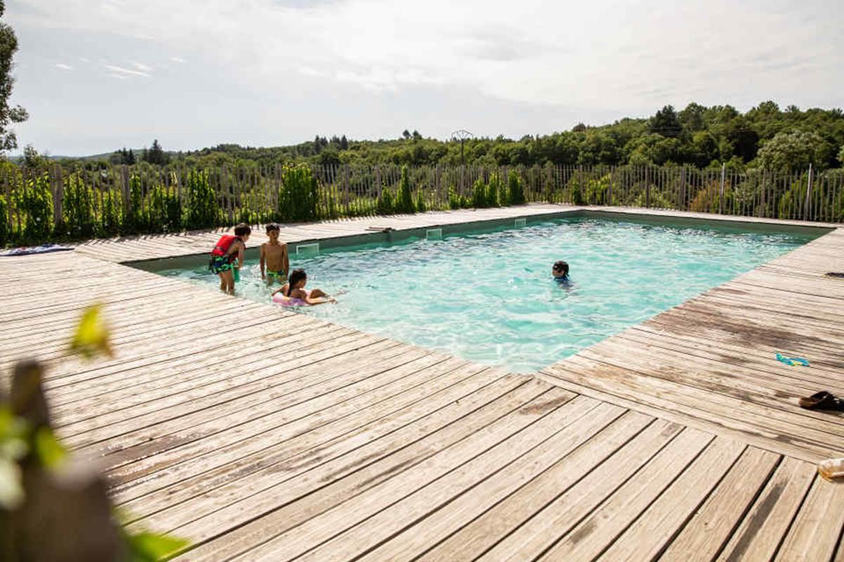 vodatent zwembad