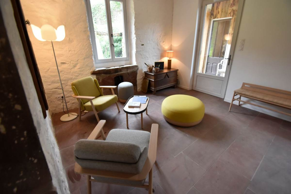 Maison Joangi-salon-Uhart-Cize