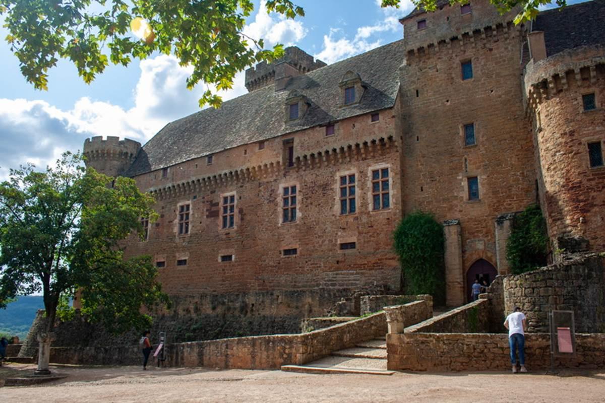 Château de Castelnau Bretenoux Lot Tourisme- C. Asquier