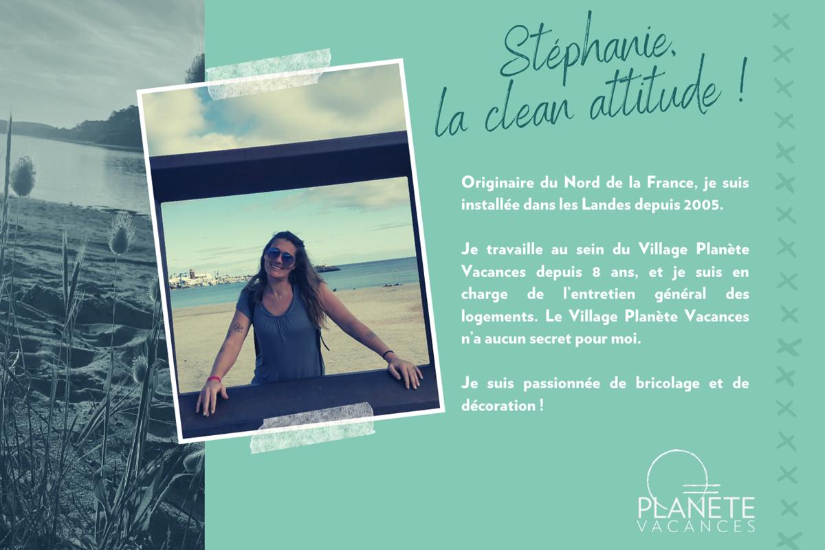 présentation team Planète Vacances - Stéphanie